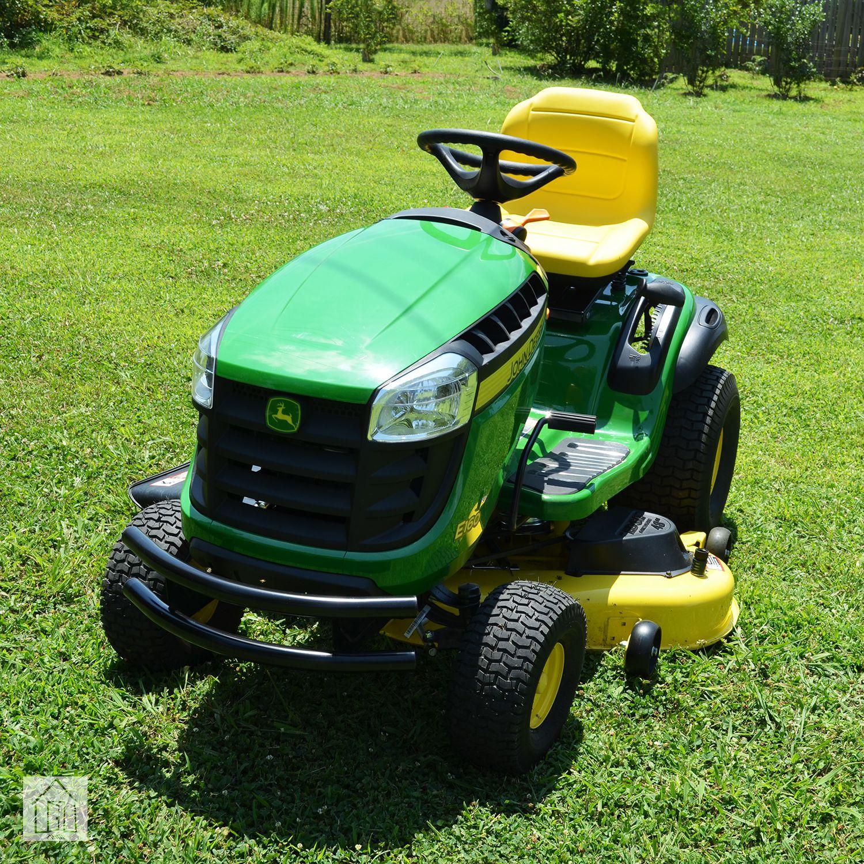 John Deere E160 Lawn Tractor Review Powerful Yard Machine