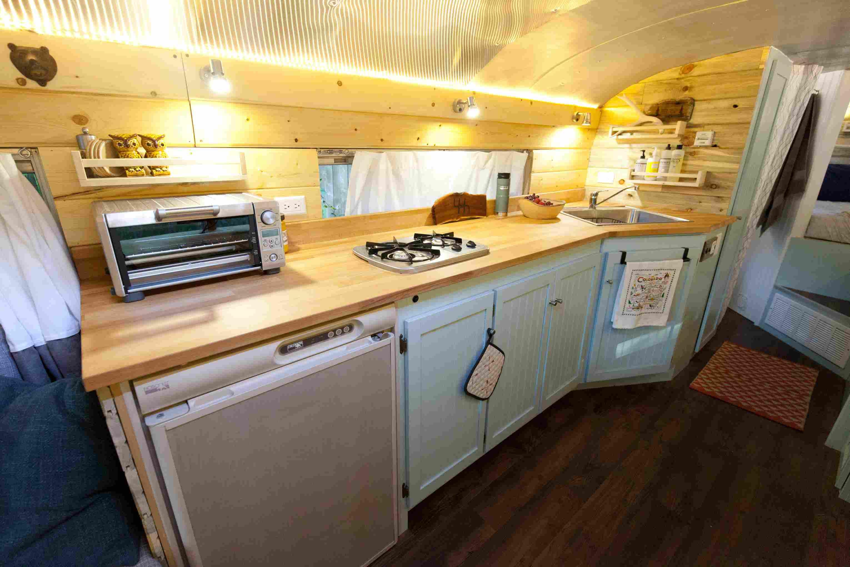 Bus kitchen
