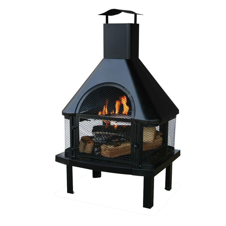 The 8 Best Outdoor Fireplaces Of 2020