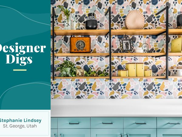 Header image of laundry room with overlay by Stephanie Lindsey of Etch Design Group
