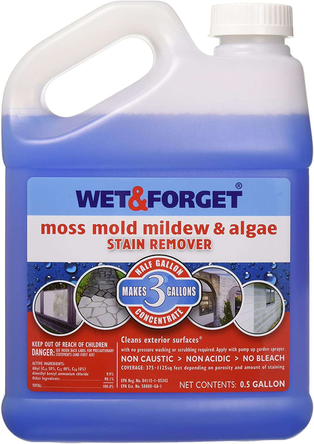 Wet & Forget Wet and Forget Moss, Mold, Mildew & Algae Stain Remover
