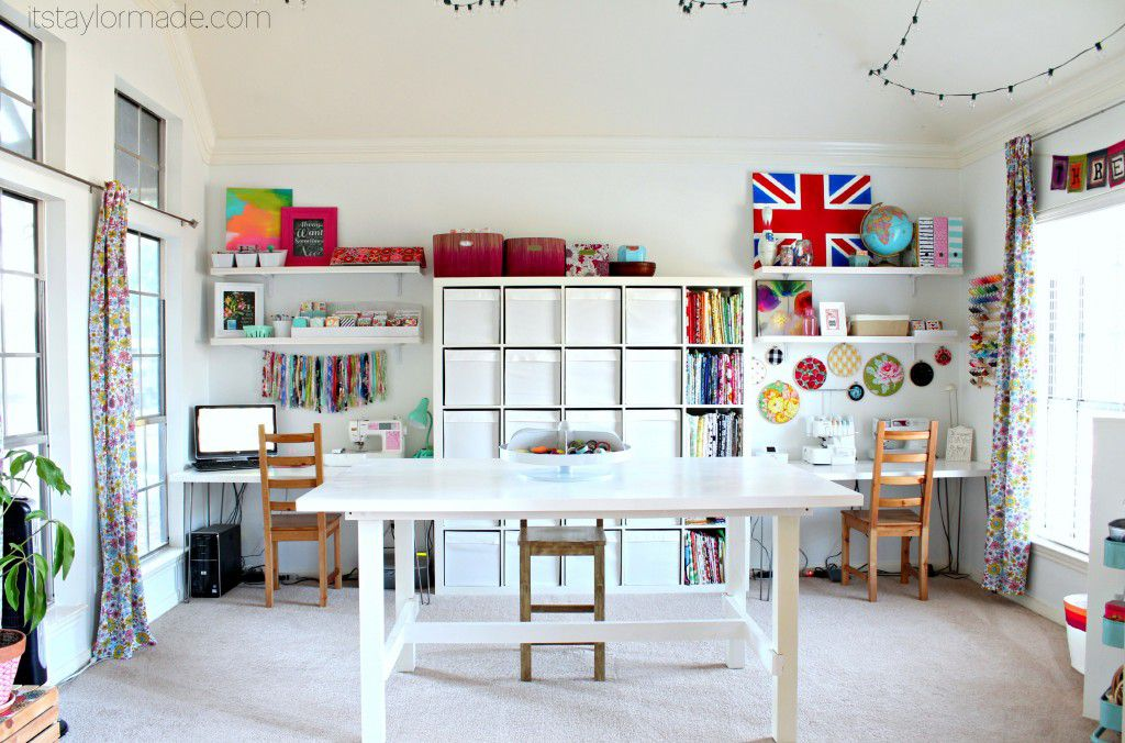 11 Beautiful Craft Room Ideas