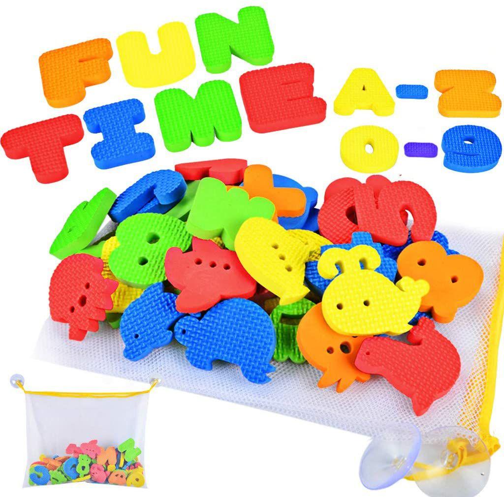 Joyin Toy 51 Pieces Educational Bath Letters