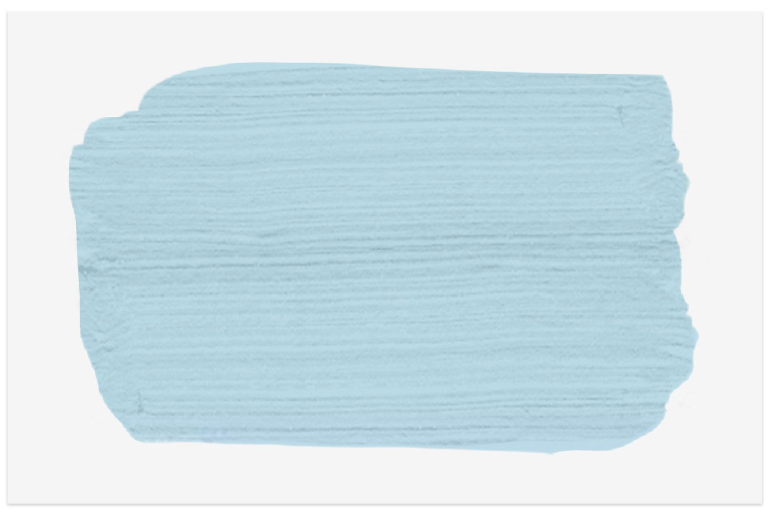 Behr Serene Sky paint swatch for ceiling color inspiration