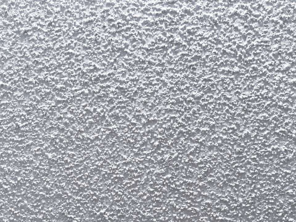 An image of popcorn ceiling texture