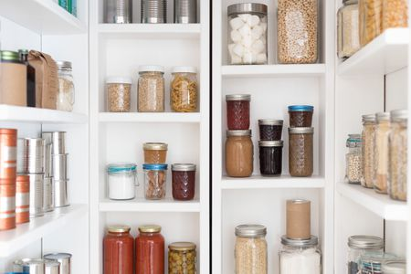 Organize Your Pantry With Simple And, Kitchen Pantry Storage Design