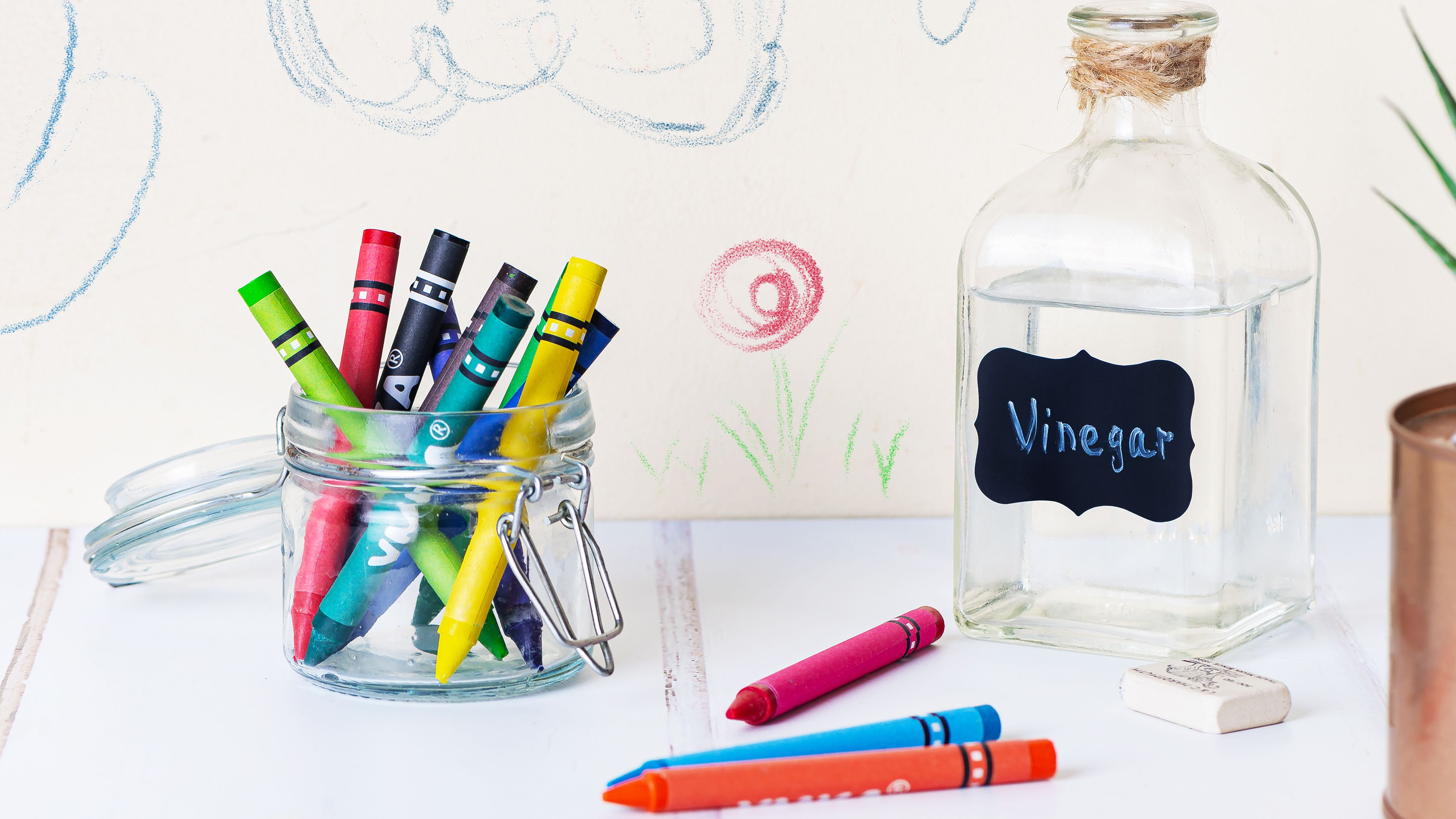 5 Crayon Removers You Already Have At Home