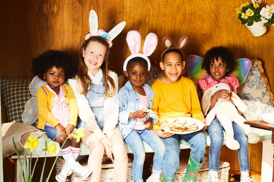 Tips for playing the easter bunny children having easter fun negle Choice Image