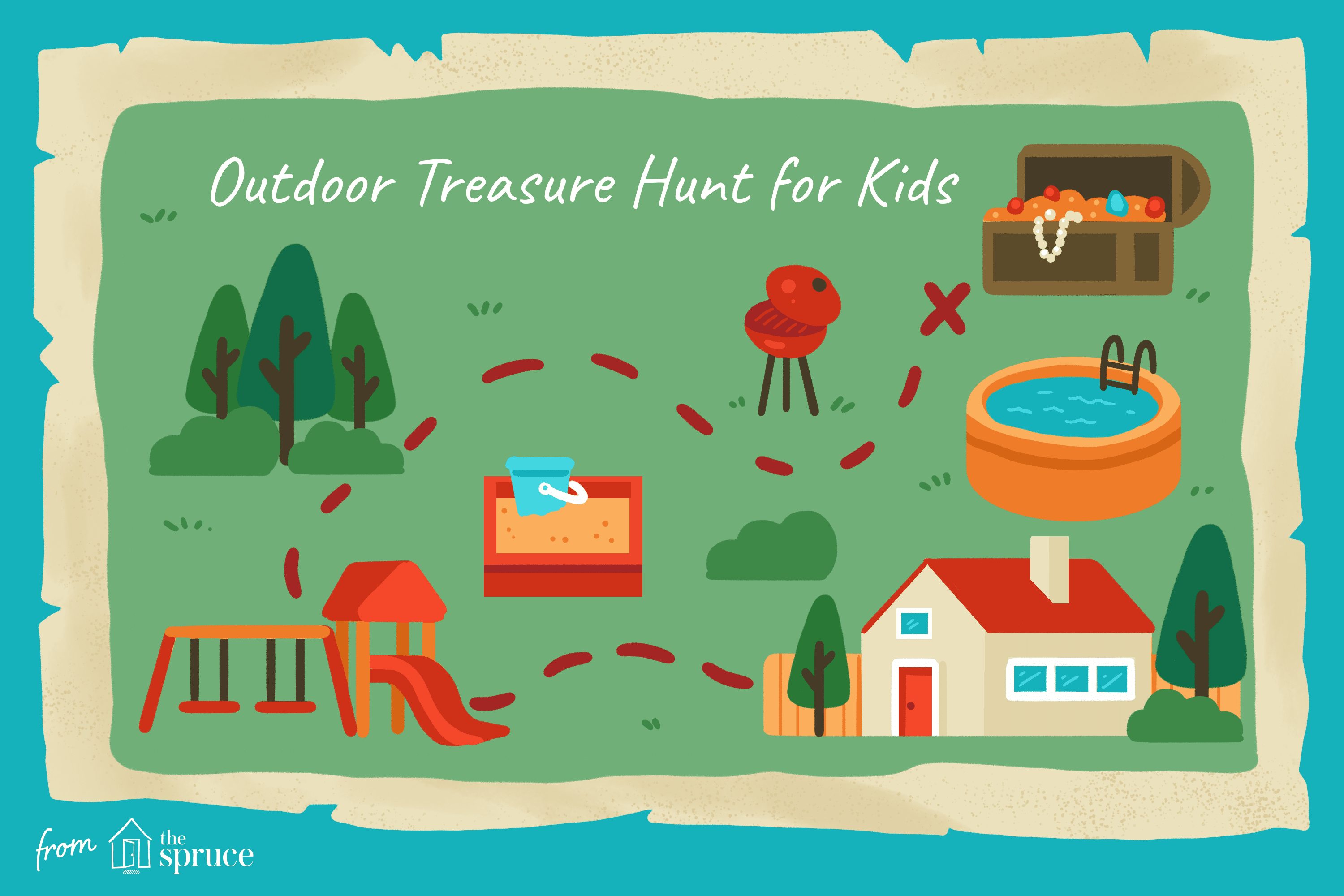 Outdoor Treasure Hunt for Kids