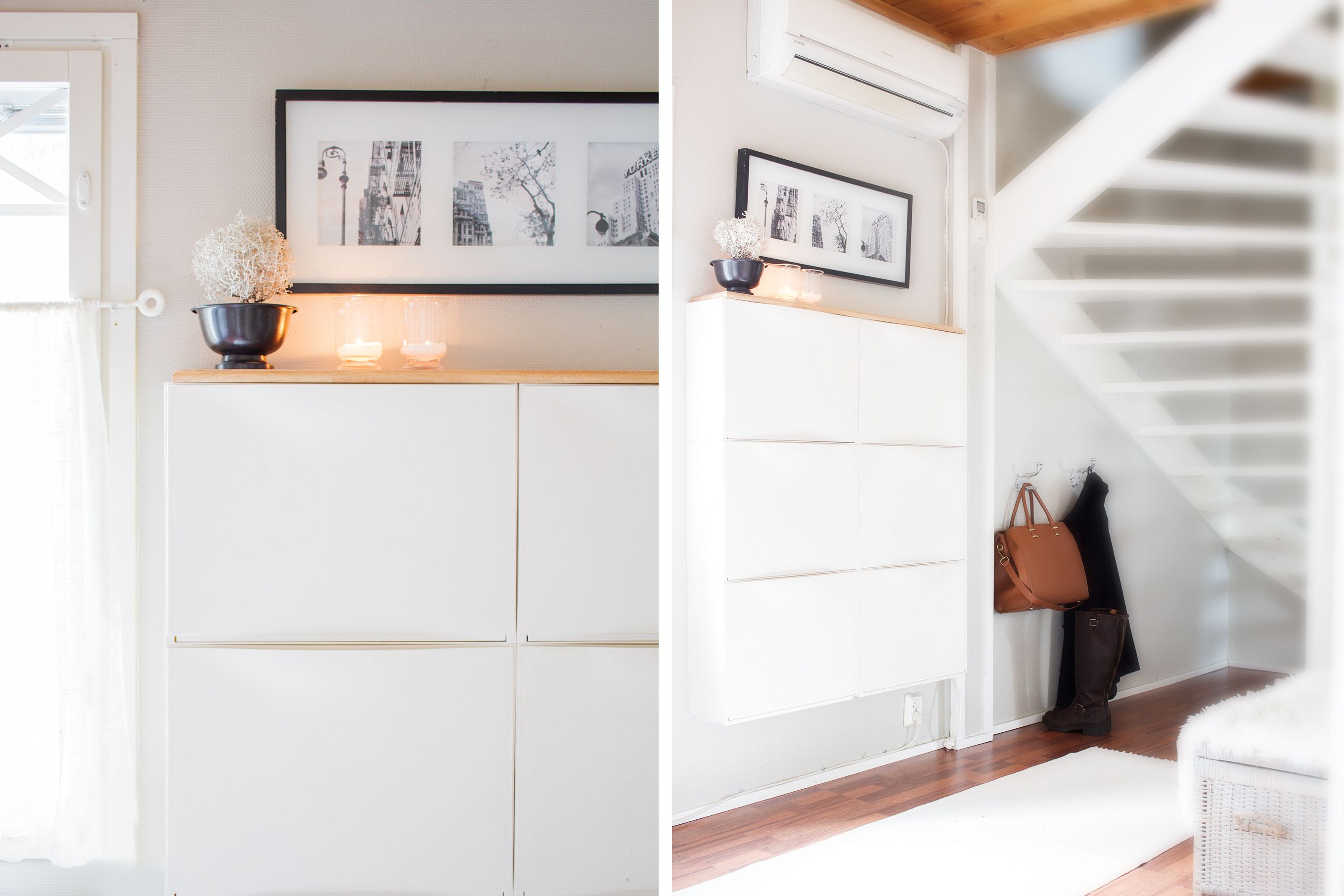 15 IKEA Hacks for Small Entryways