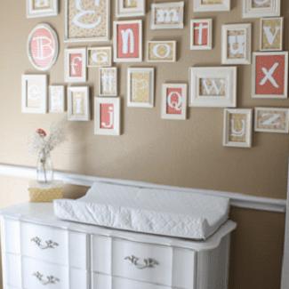 Diy Nursery D 233 Cor 10 Easy And Affordable Ideas
