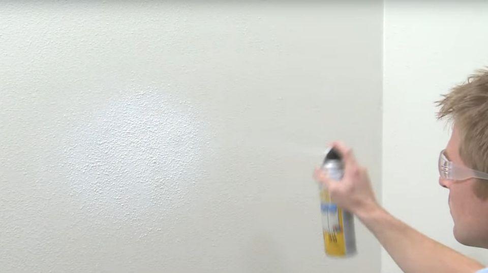 Orange peel wall texture