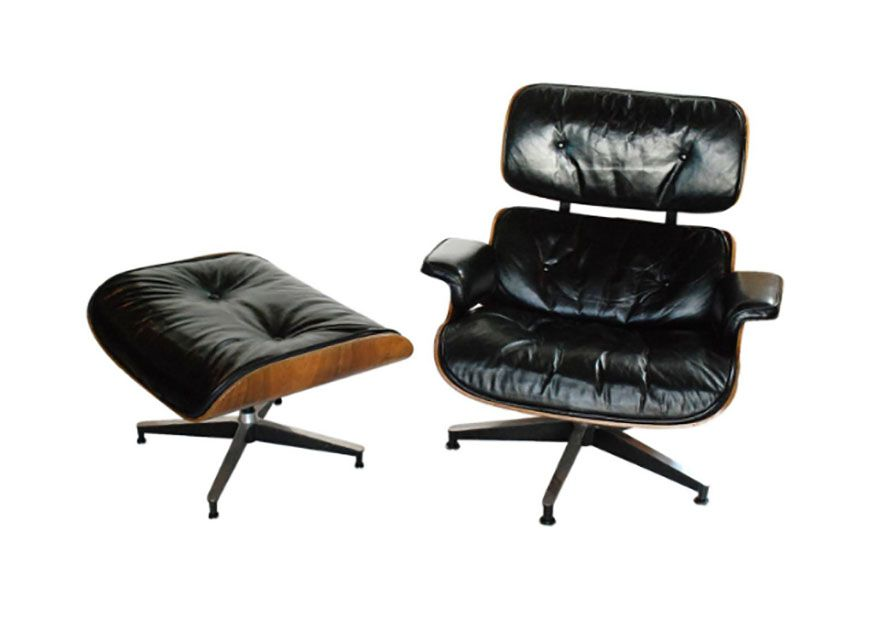 Vintage Eames Lounge Chair C 1960s