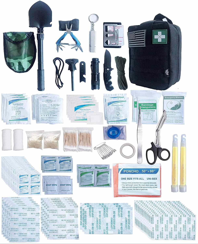 WildmanSurvival First Aid Survival Kit