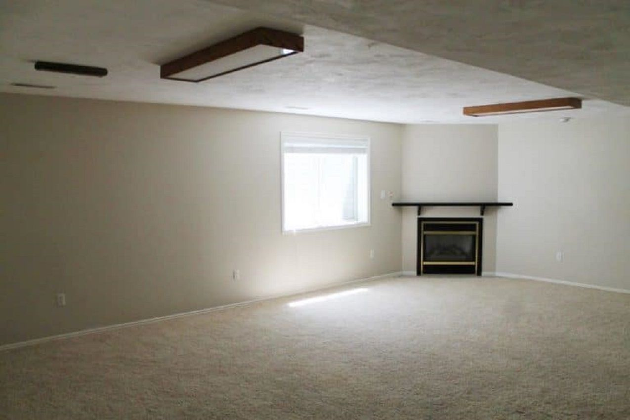 Basement Space Prior to Remodeling