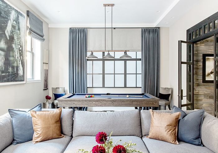 sala de estar: colores de pintura greige