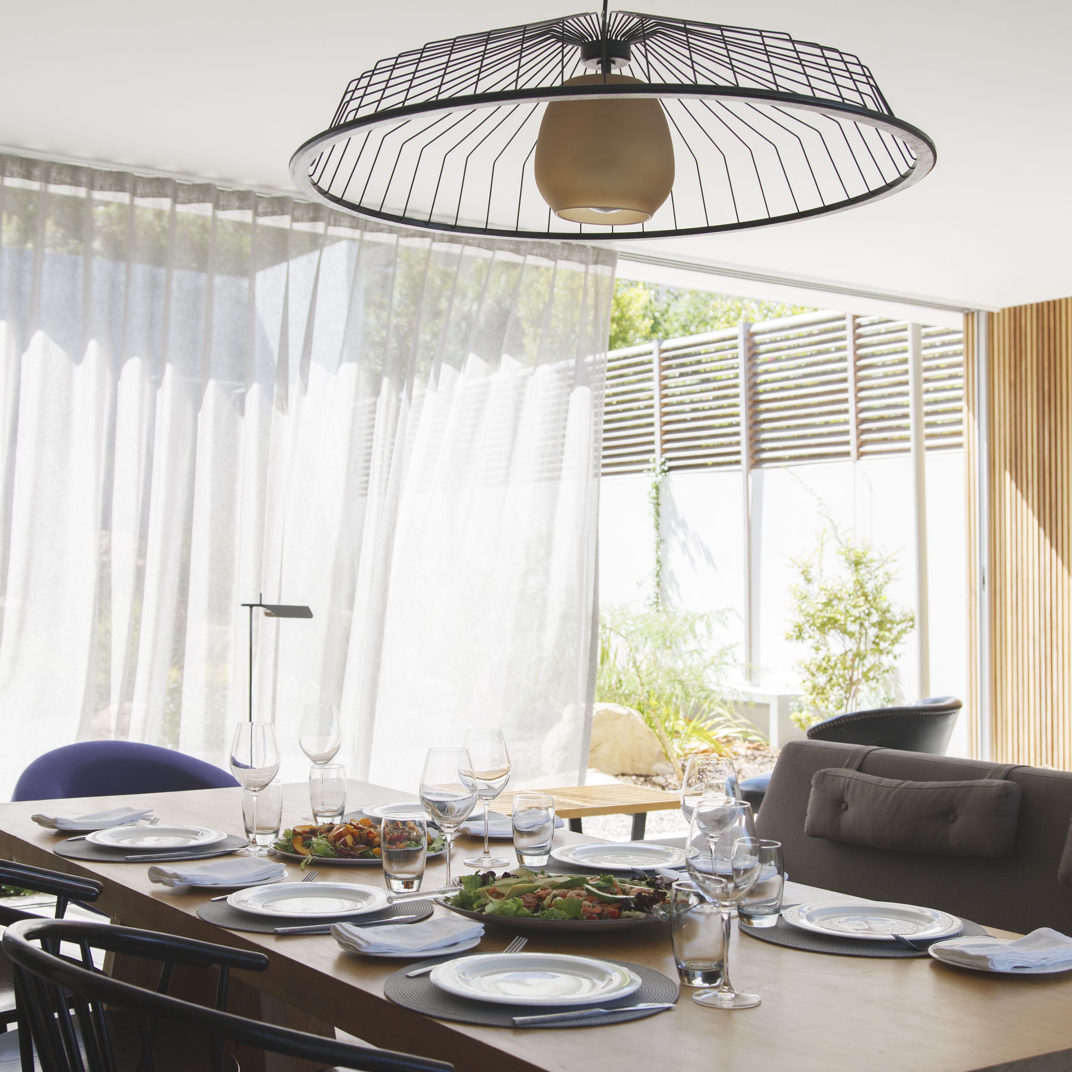 Soften Your Dining Room With Curtains Or Drapes