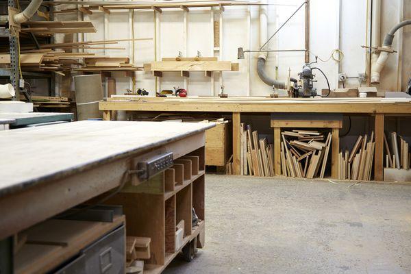 Woodshop Flooring