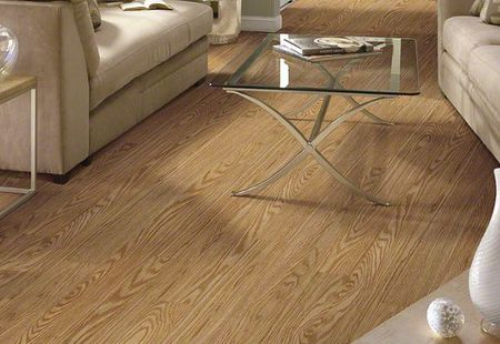Light Oak Luxury Vinyl Plank Flooring