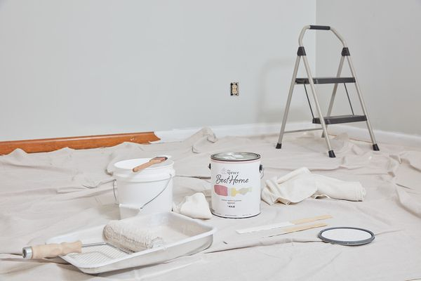 Essential painting supplies