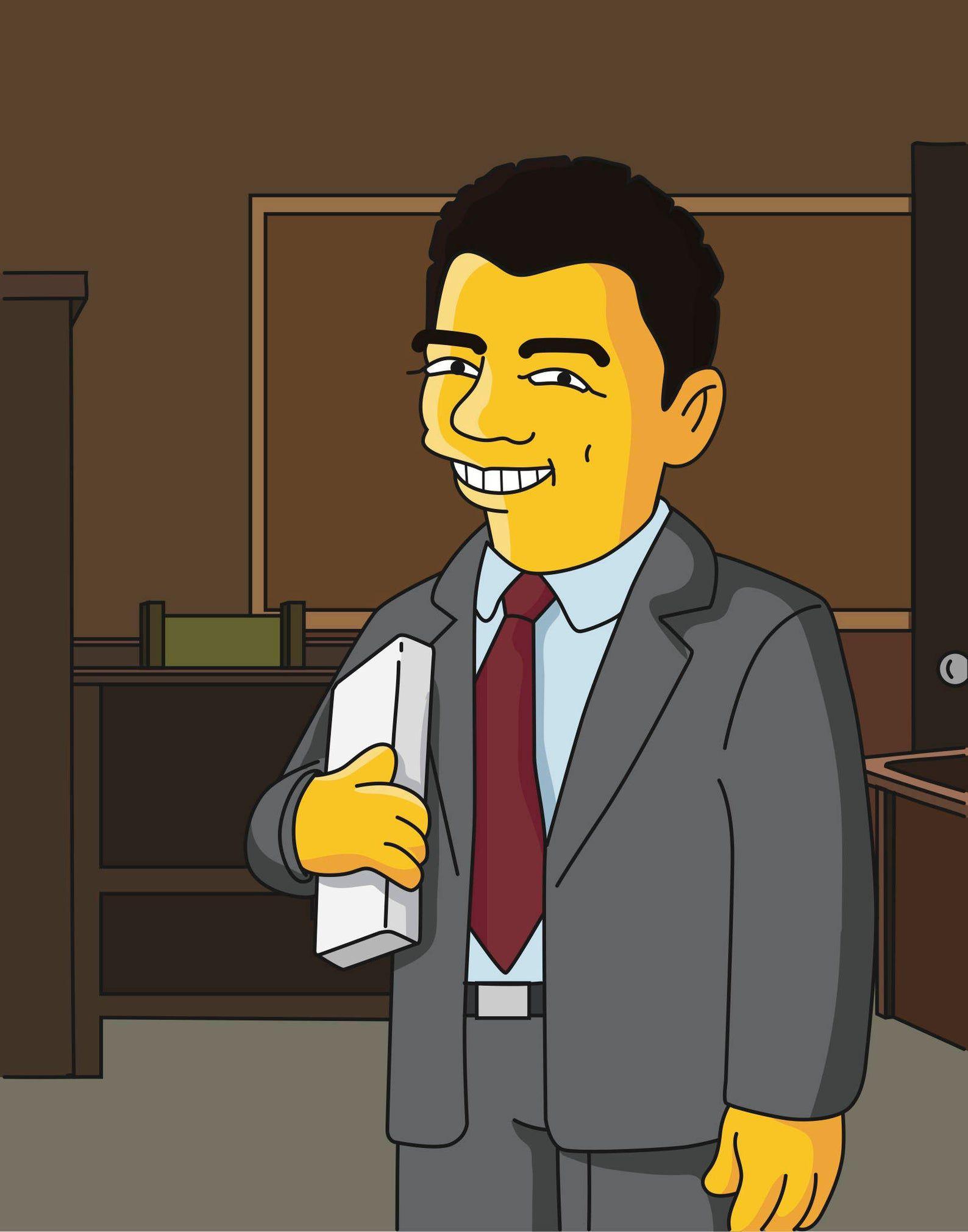 CartoonPortrait Lawyer Custom Portrait