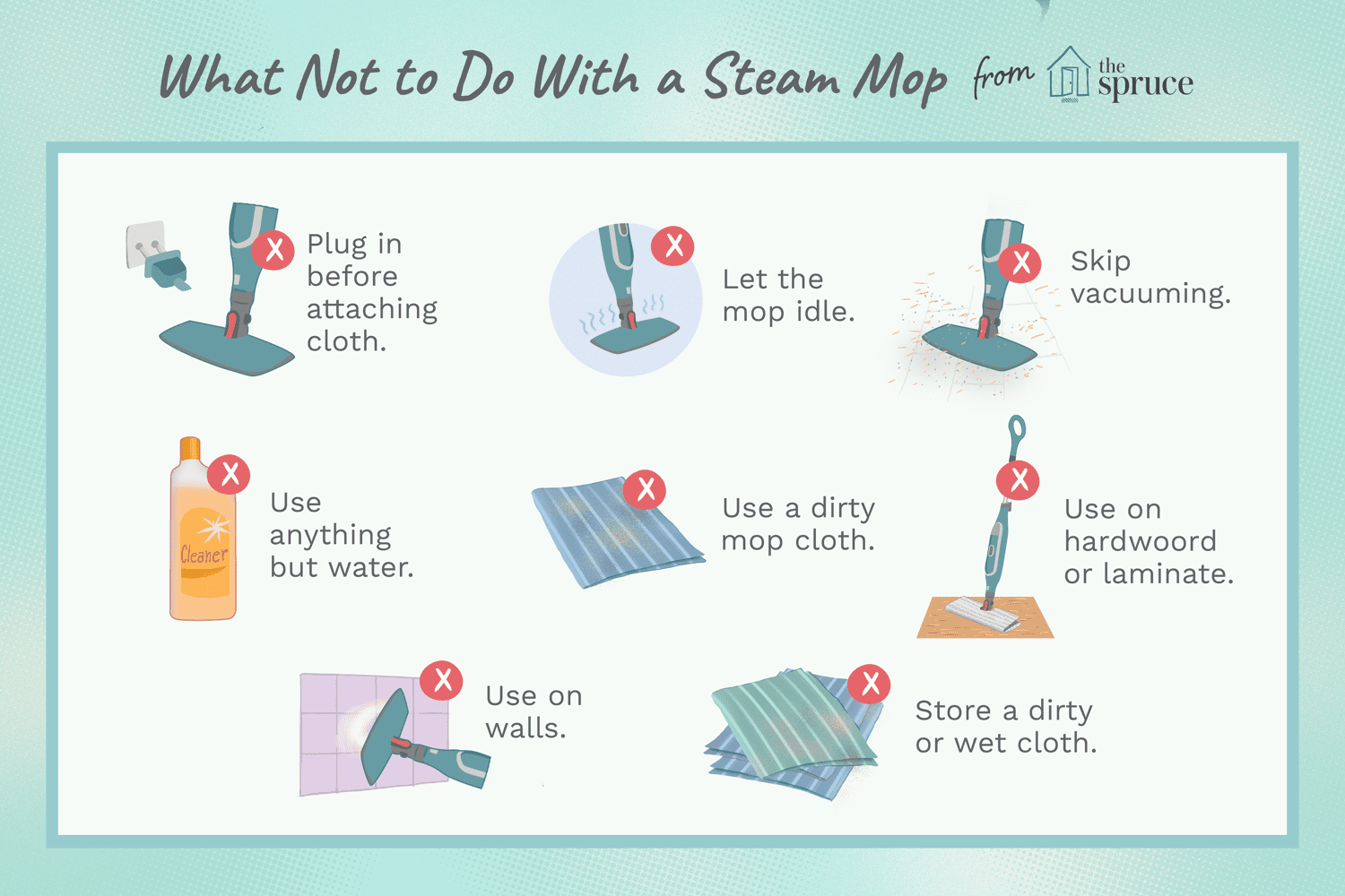 10 Mistakes To Avoid When Using A Steam Floor Mop