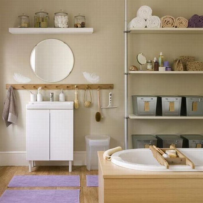 Soothing Bathroom Color Palette