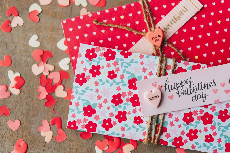 love letters for Valentines Day