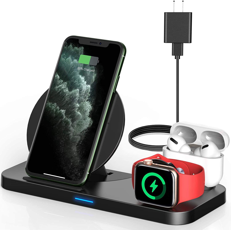 Powlaken 3 in 1 Wireless Charger