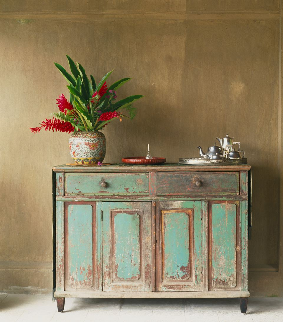 Antiqued Dresser