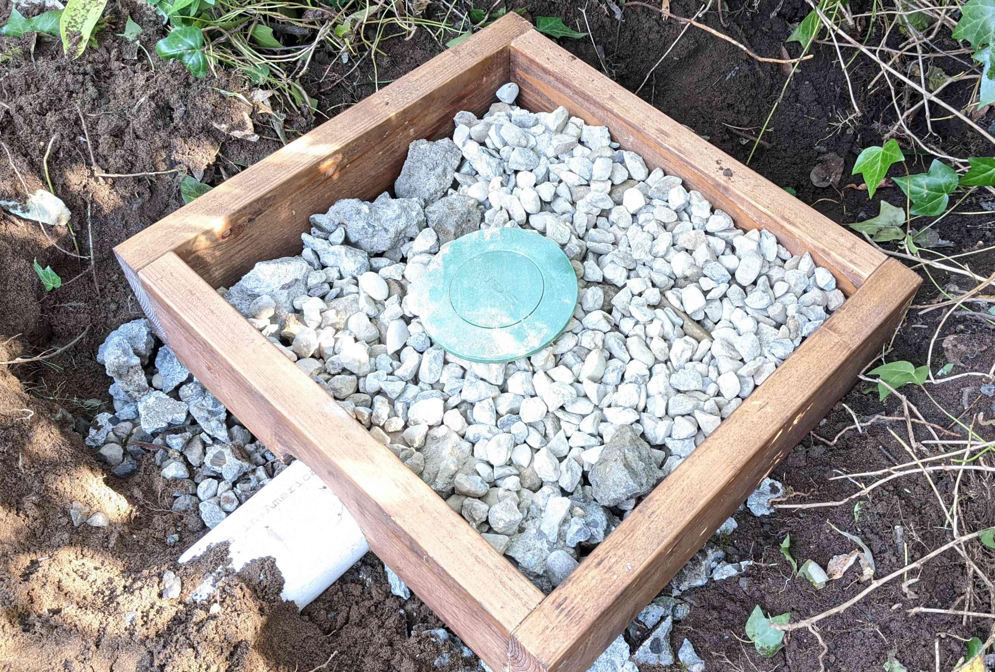 Add Gravel Around the Emitter