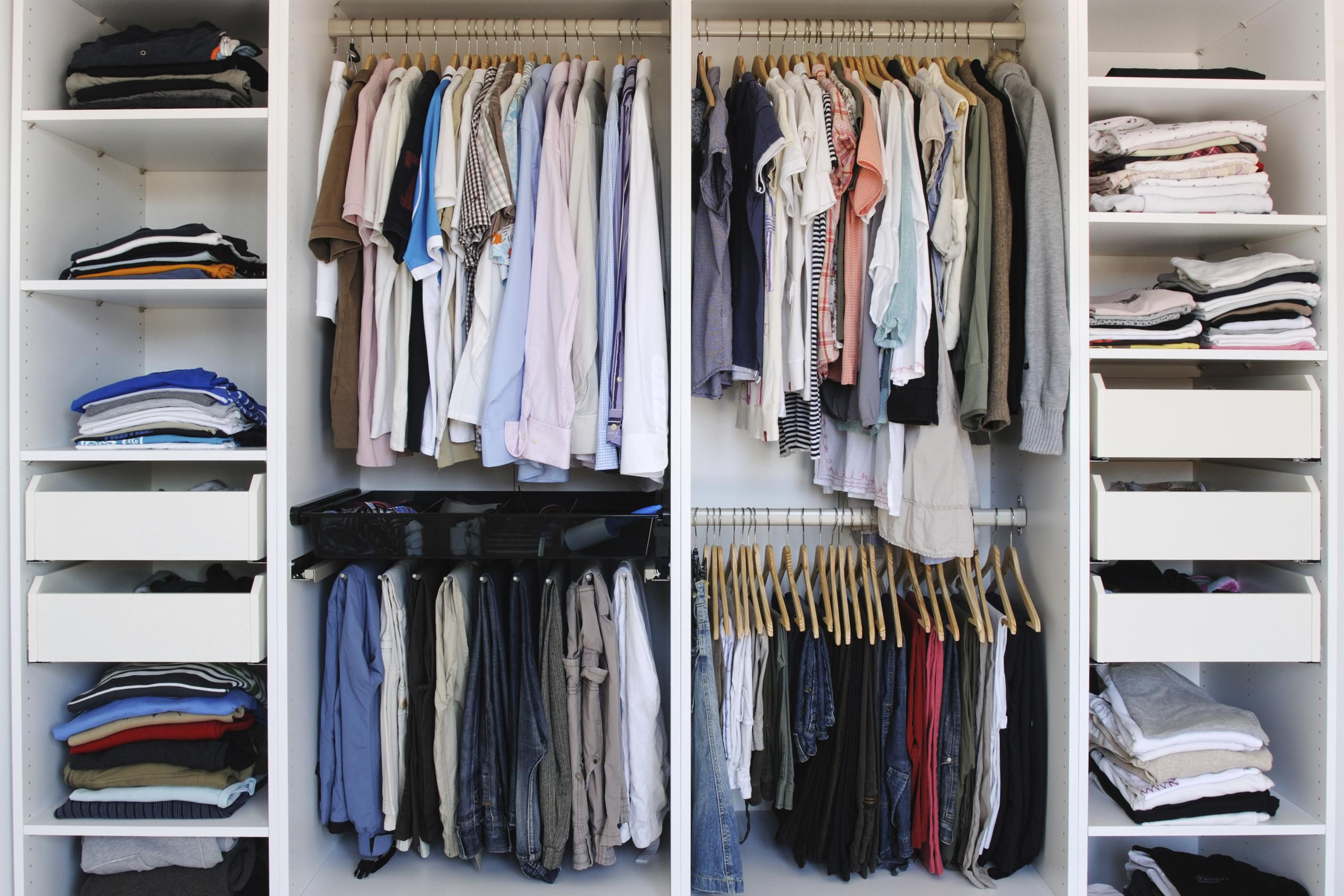 10 best closet storage ideas - Storage ideas for clothes in small bedroom ...