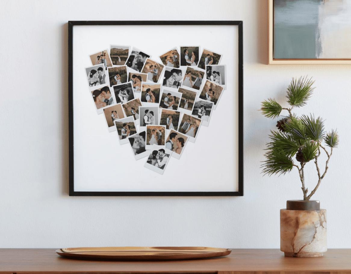 Minted Heart Shaped Portrait