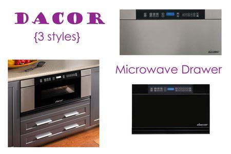 Dacor Microwave Drawer
