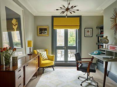 Mid century inspired office