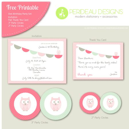 19 sets of free baby shower invitations you can print an owl themed baby shower invitation filmwisefo