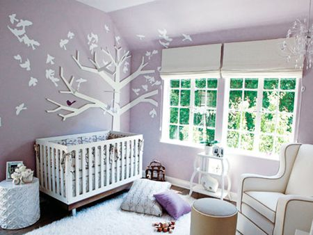 Decorating A Purple Nursery