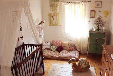 Chic Bohemian Interieur : Boho nursery chic: modern nurseries with bohemian charm