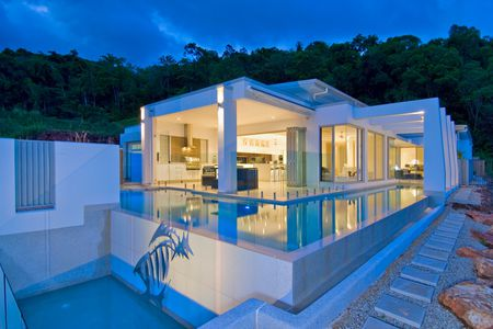 Mediterranean Style House Plans With Pos | 25 Beautiful Modern Swimming Pool Designs