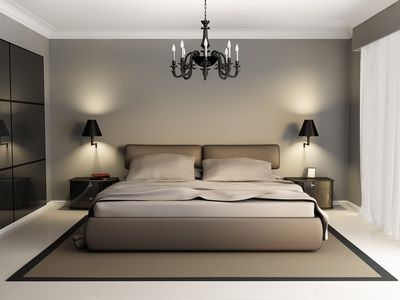Soothing Modern Bedroom Interior