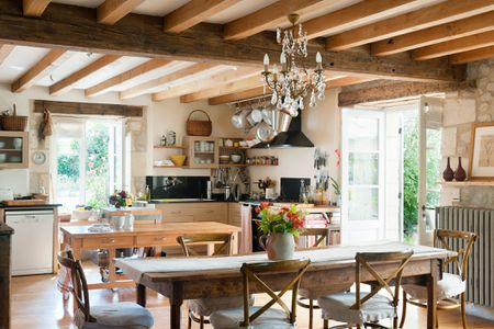 French Country Kitchen Andreas Von Einsiedel Getty Images