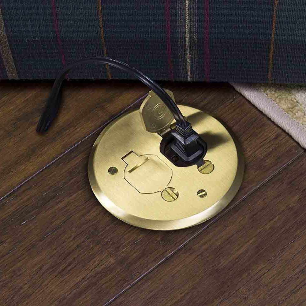 Poke Through Electrical Floor Outlet