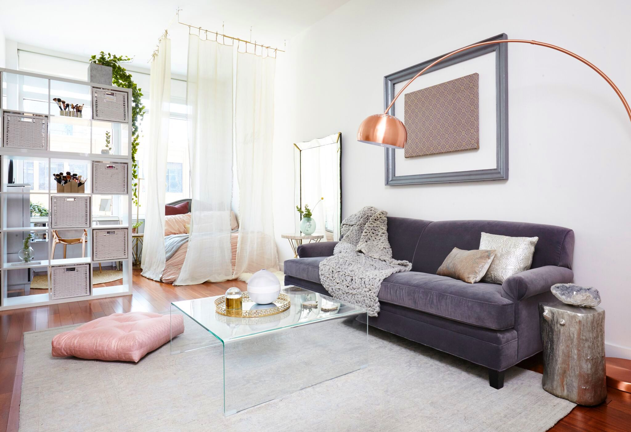25 Ways to Create a Bedroom in a Studio Apartment