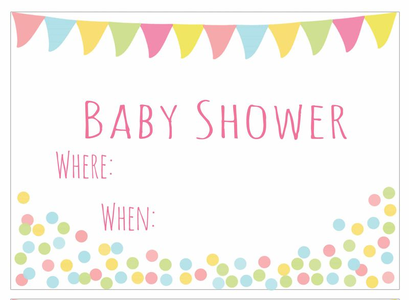 25 adorable free printable baby shower invitations baby shower banner invitation filmwisefo