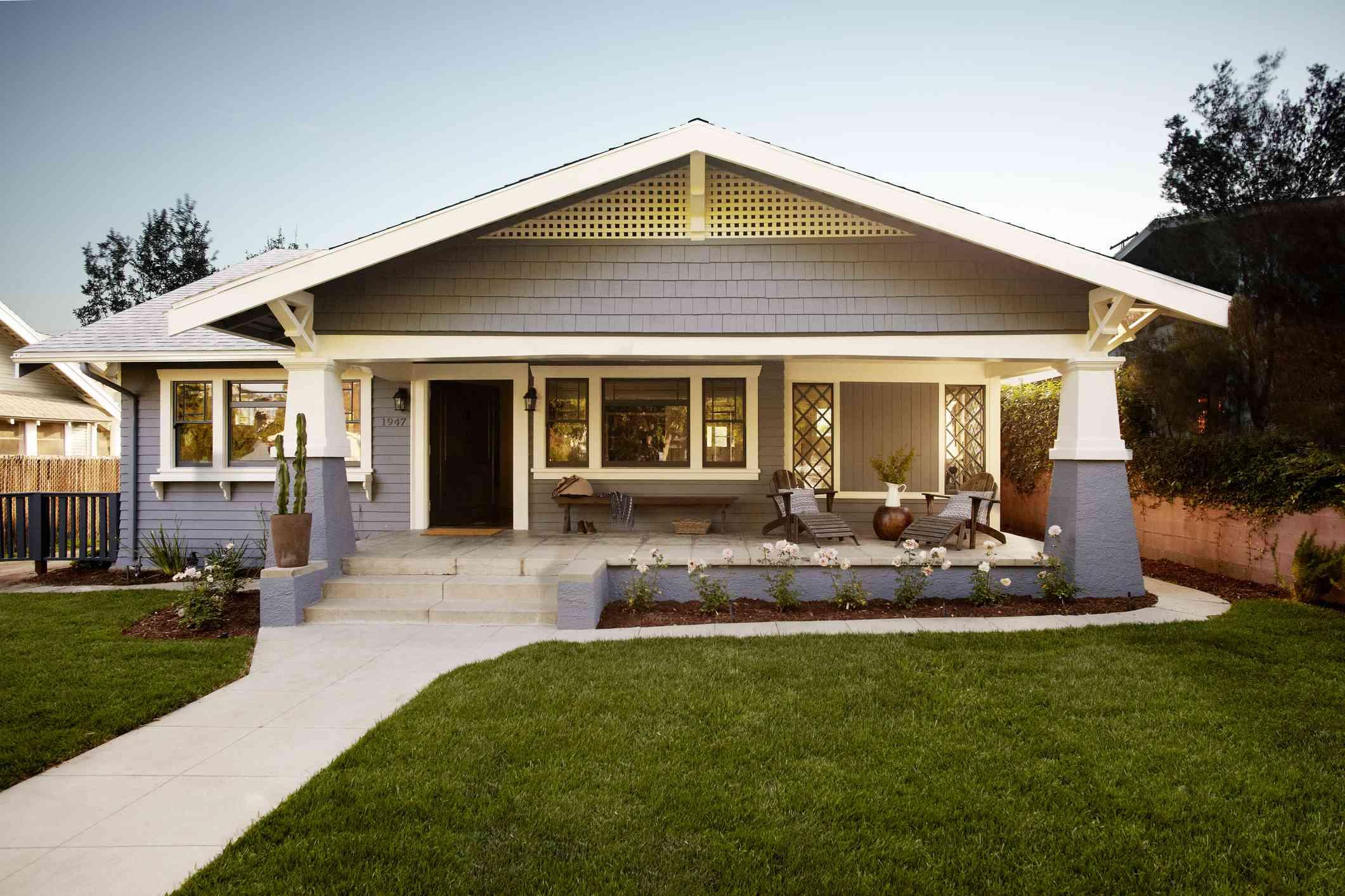 Craftsman-style house