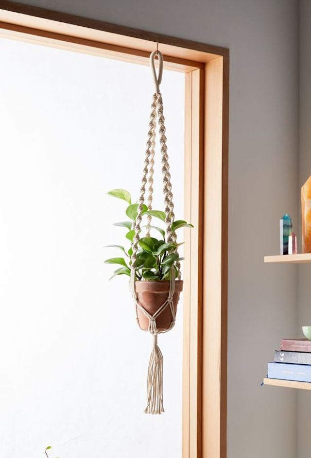 Urban Outfitters Natural Plant Hanger