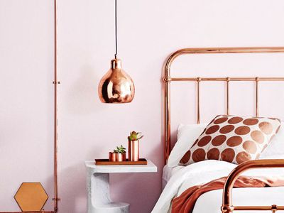 7 Pretty In Pink Bedrooms Bedroom Ideas