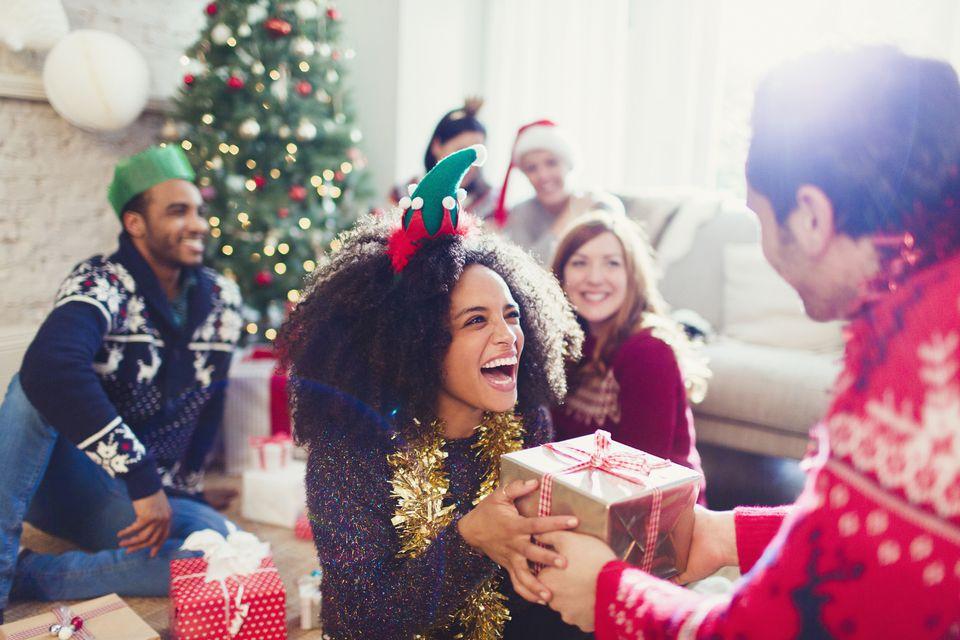 Intercambio de regalos de navidad
