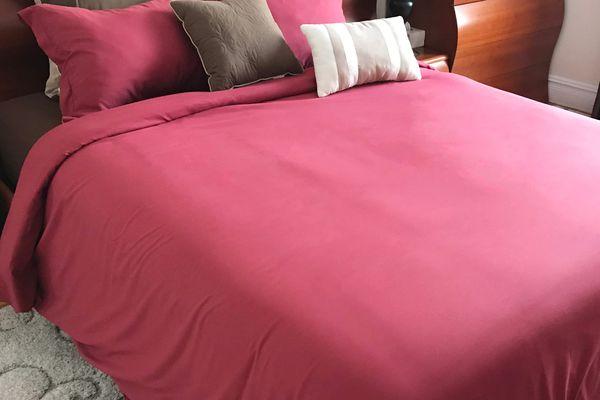 Beckham Luxury Linens Brushed Duvet Cover