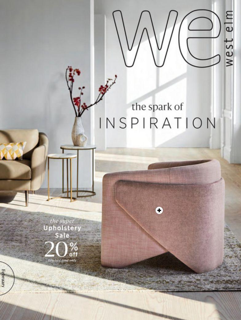 The 2018 West Elm catalog
